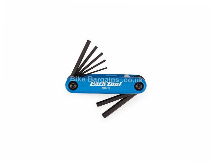 Park Tool AWS-10 Allen Keys Multi-Tool 6 functions, blue, black