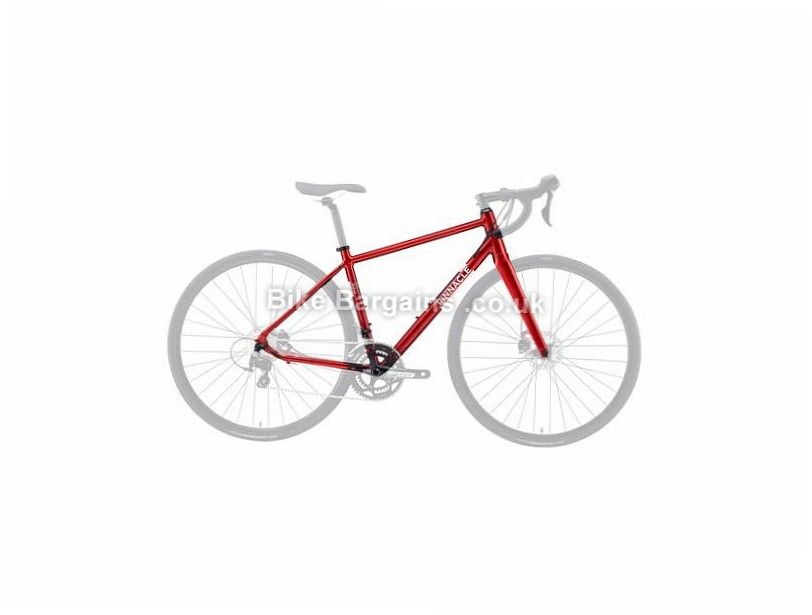 Pinnacle Dolomite 5 Ladies Alloy Disc Road Frame 2016 M,L, Red, Alloy, Disc, 700c
