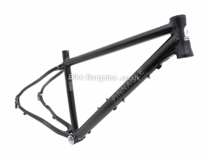 "Pinnacle Lithium 4 Ladies Alloy Caliper Hybrid Frame 2013 44cm, Black, Alloy, 1.75kg, Caliper Brakes, 29"", 700c"