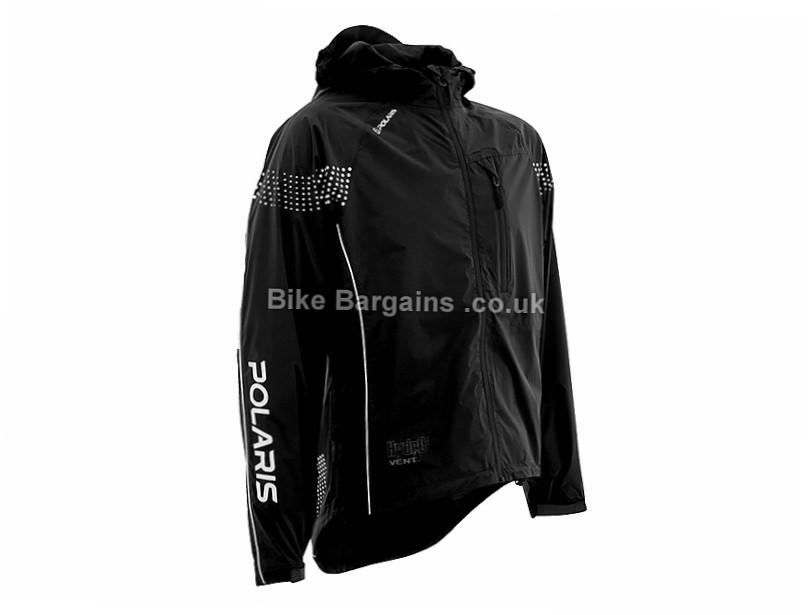 Polaris Quantum Waterproof Jacket S, Black