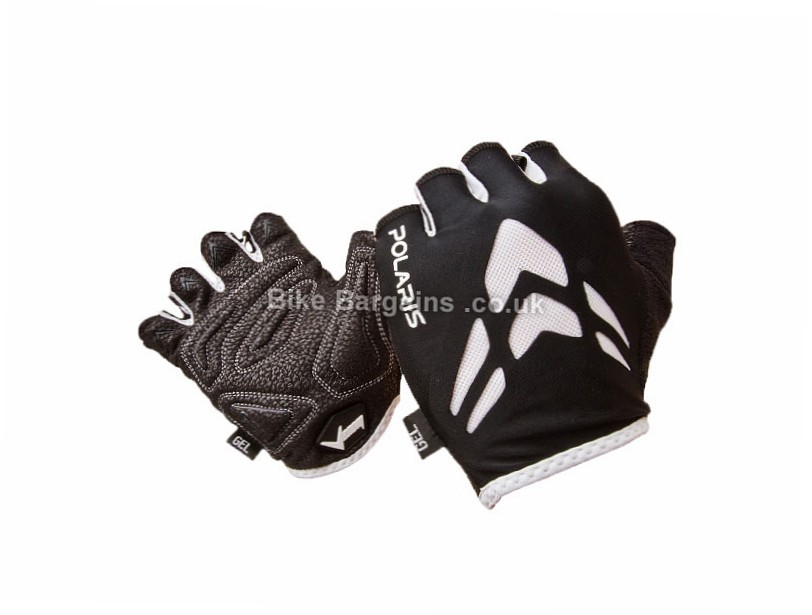 Polaris Venom Road Mitts S,M, Black, Mitts, Gel, Synthetic Leather