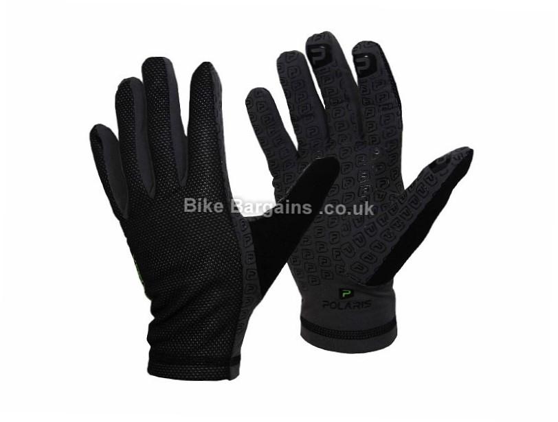 Polaris Windgrip Year Round Cycling Gloves XS,M,L,XL,XXL, Black