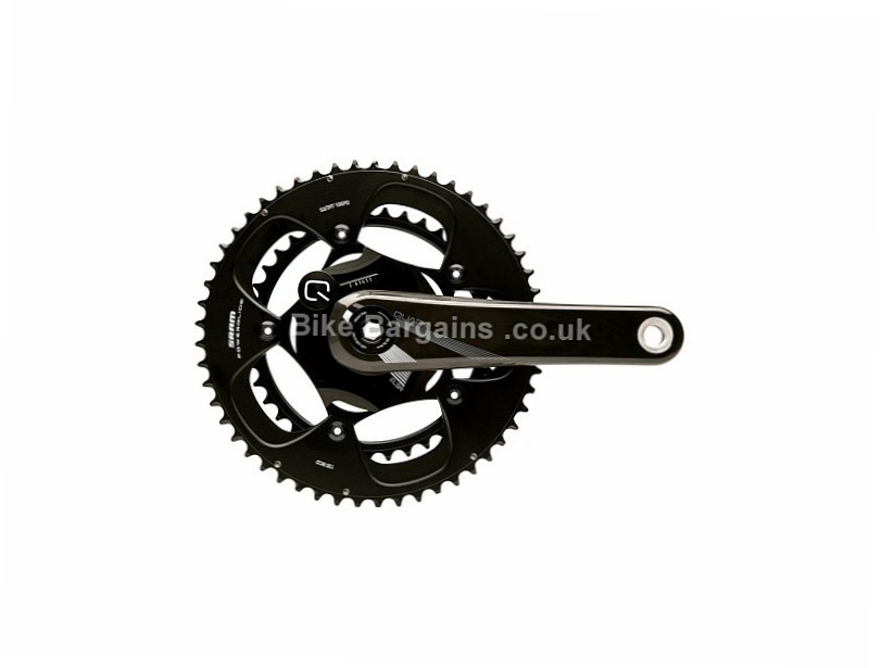 Quarq ELSA 10R Road Power Meter 172.5mm, black, carbon