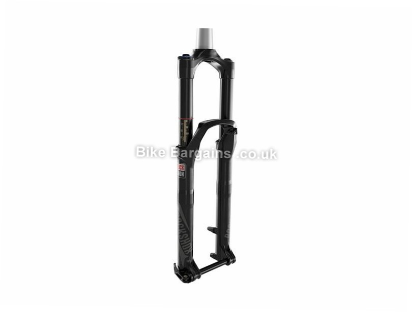 "RockShox Revelation RL Solo Air MTB Suspension Forks Black, 130mm, 27.5"", 1.1/8"", 1.5"", Tapered"