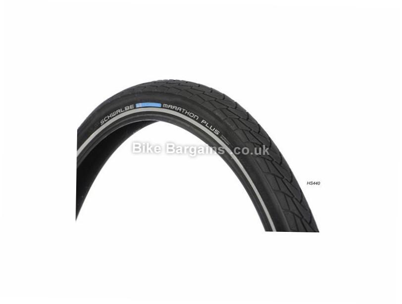 "Schwalbe Marathon Plus SmartGuard Tyre Wire, 26"", 1.5"", Black"