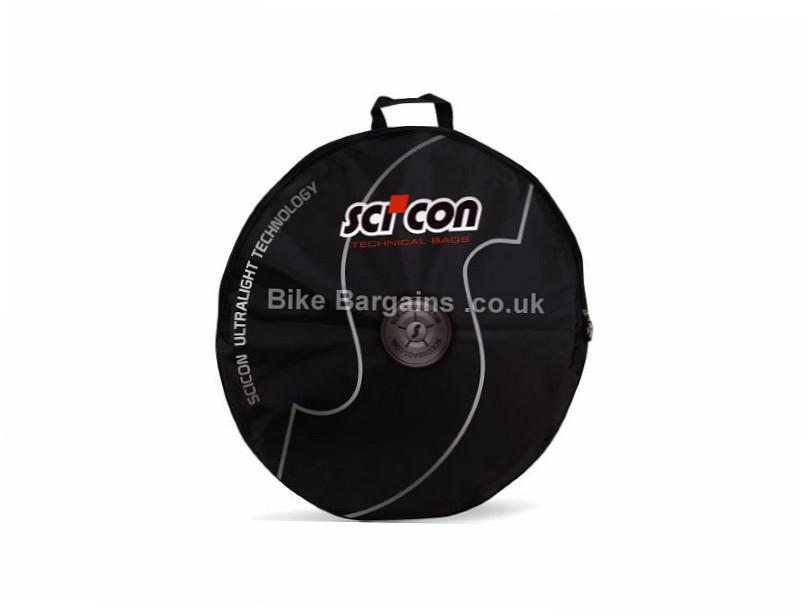 Scicon Single Wheel Bag 700c, Black, Single