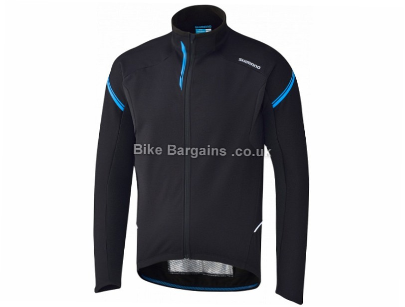 Shimano Performance Windbreaker Long Sleeve Jersey Black, White, Yellow, S,M,L,XL