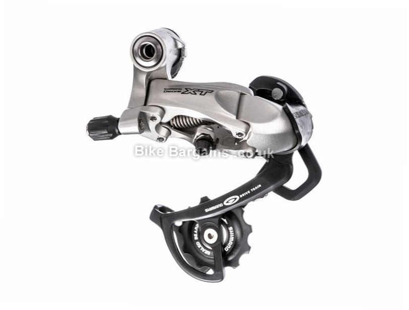 Shimano XT Rapid Rise M760 Rear Derailleur Medium Cage, Black, 9 Speed