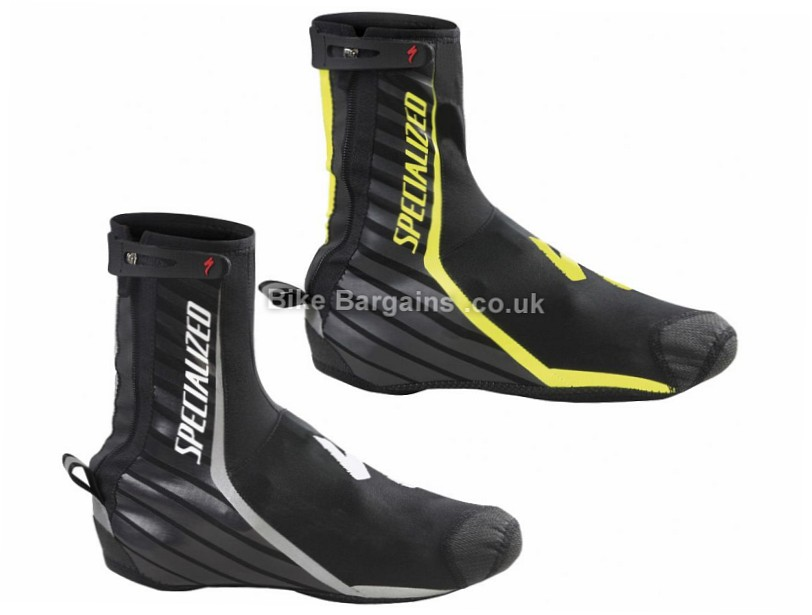 Specialized Deflect Pro Overshoes 2016 S, Black, Yellow,