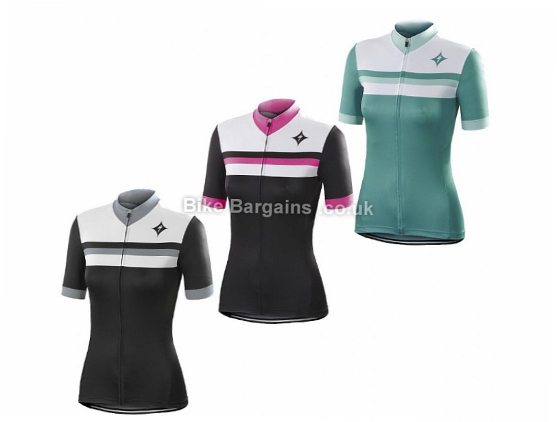 Specialized Rbx Comp Ladies Short Sleeve Jersey 2016 S, Black, Grey