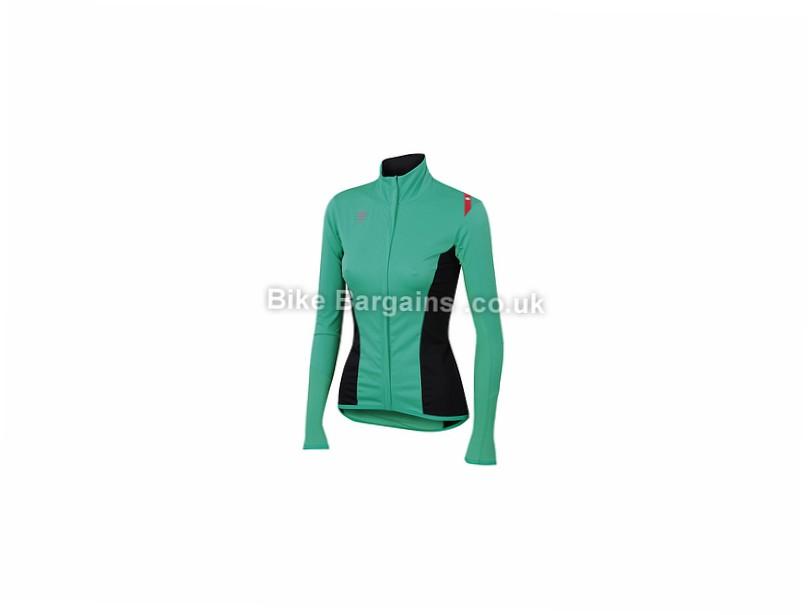 Sportful Ladies Fiandre Light NoRain Softshell Long Sleeve Jersey XL, Black
