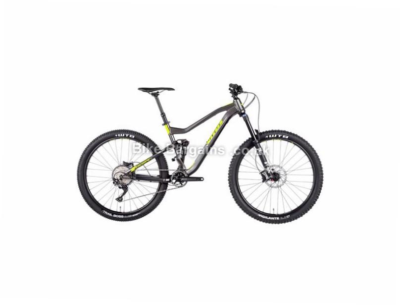 "Vitus Bikes Escarpe VR SLX 27.5"" Alloy Full Suspension Mountain Bike 2017 27.5"", 20"", Grey, Yellow, 11 Speed, Alloy, 150mm, 135mm"