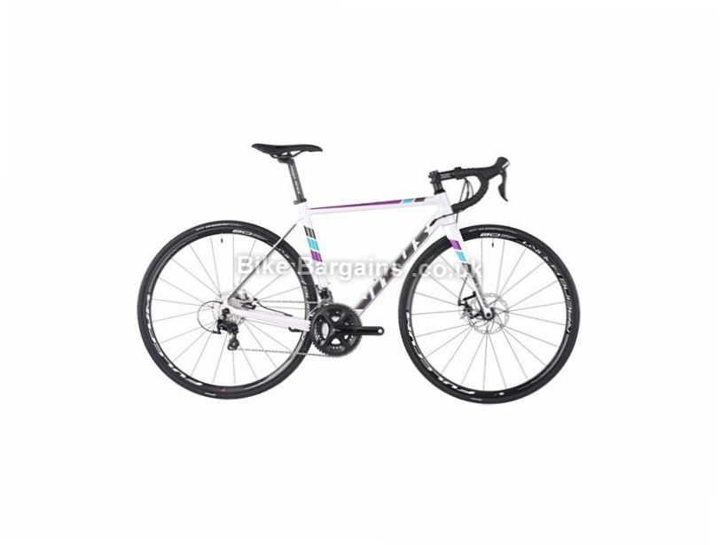 Vitus Bikes Venon L Carbon Disc Road Bike 2016 54cm, 700c, White, Grey, Purple, 22 Speed, Carbon