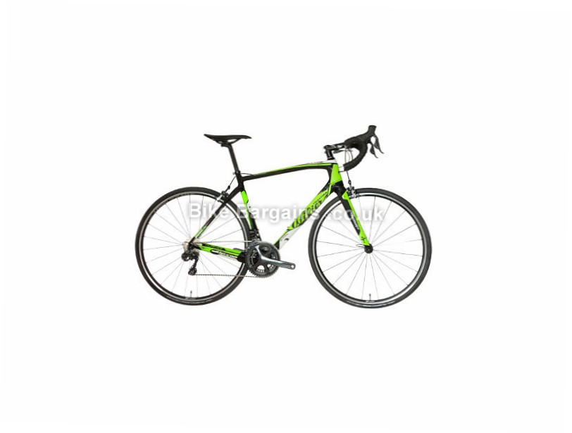 Wilier GTR SL Endurance Ultegra Di2 Road Bike 2017 XS, Black, Green, Carbon, 11 speed, Calipers, 700c, 7.8kg