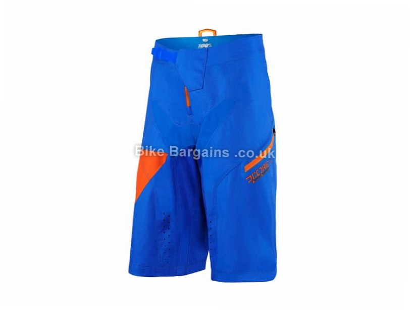 100% R-Core Nova MTB Downhill Shorts 30, 38, Blue