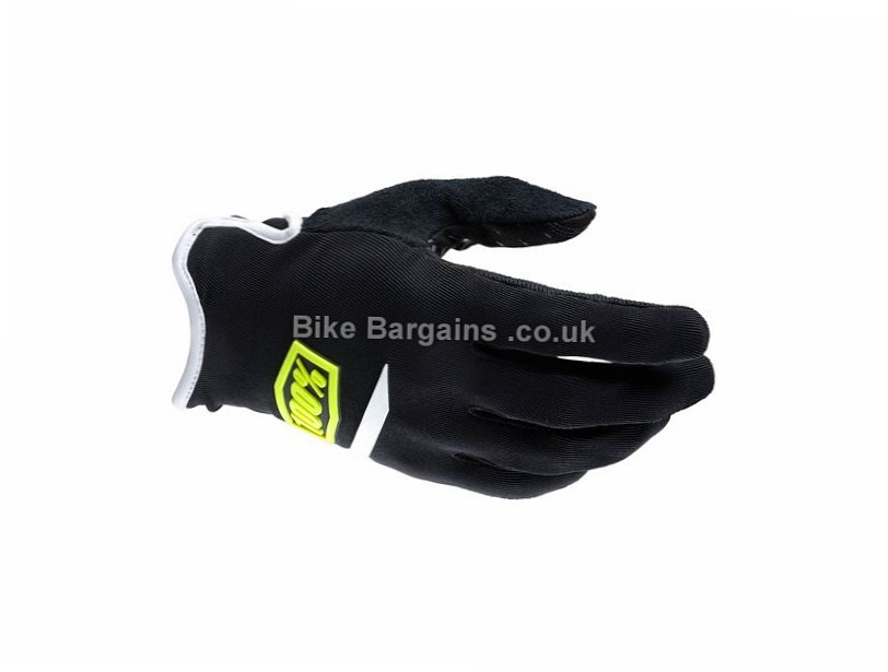 100% Ridecamp MTB Glove S, M, XL, XXL, Yellow, Black, Grey