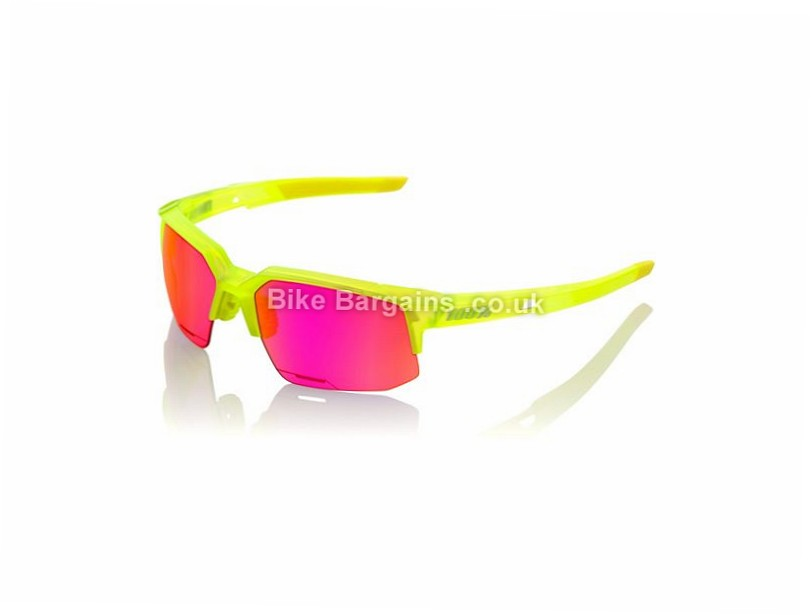 100% SpeedCoupe Sport Sunglasses Orange, Grey - some are extra