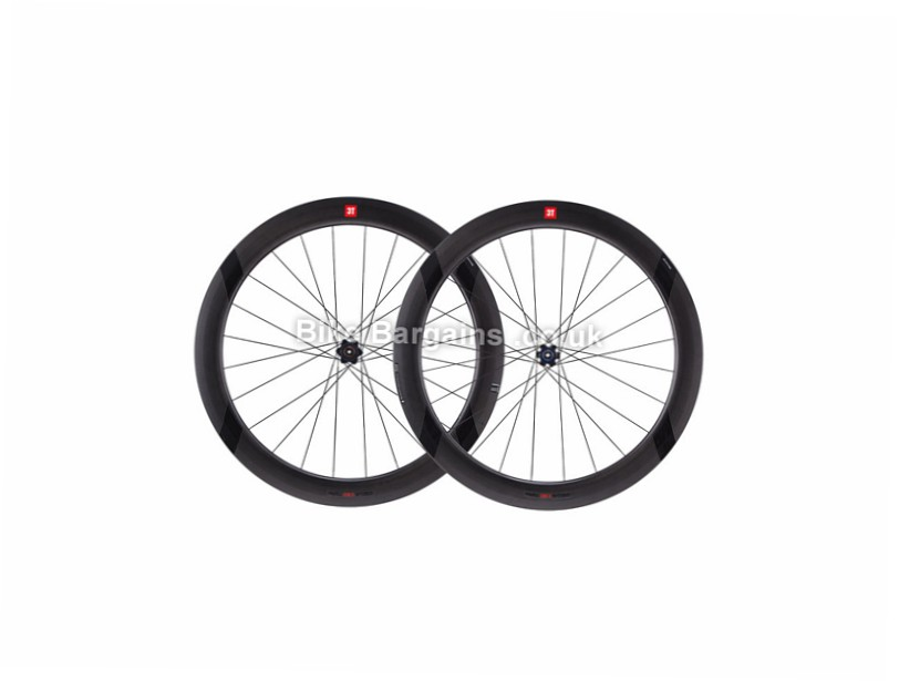 3T Discus C60 Team Stealth Carbon Disc Road Wheels Black, 700c, SRAM, Shimano, 1632g, 8,9,10,11 Speed