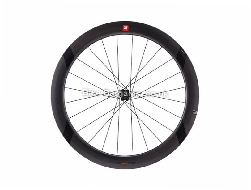 3T Discus C60 Team Stealth Carbon Rear Road Wheel Shimano, 700c, Black, 9, 10, 11 Speed