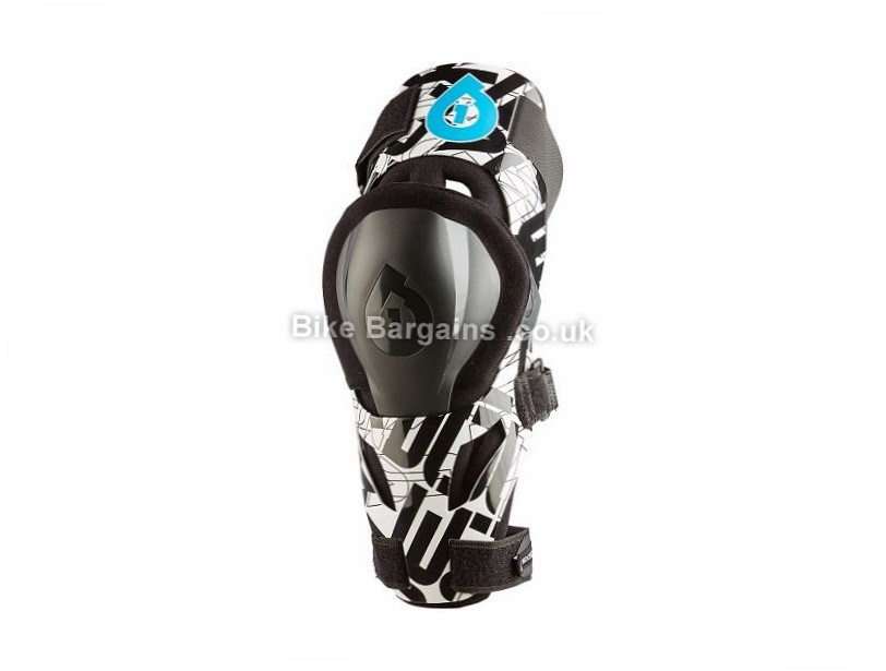 661 Evo MTB Knee Support S, White, Black