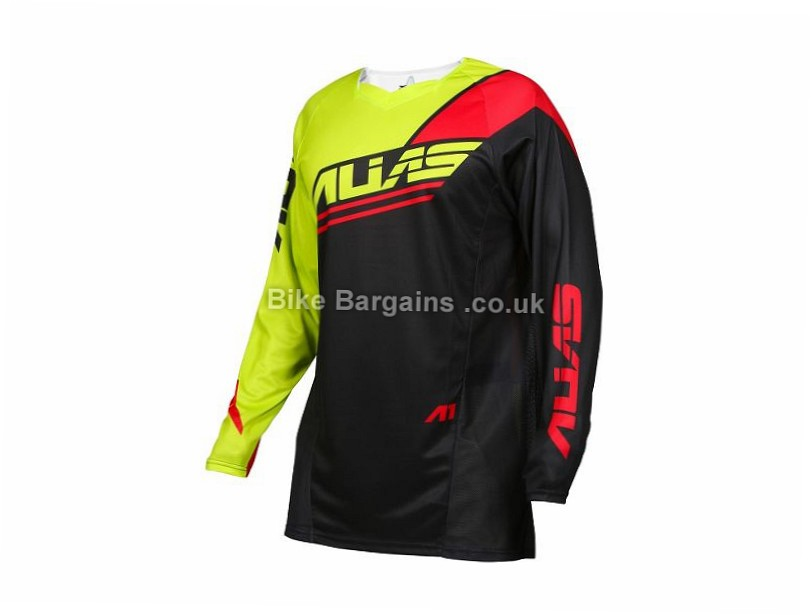 Alias A1 Analogue MTB Long Sleeve Jersey 2017 XL, White, Blue, Black, Orange