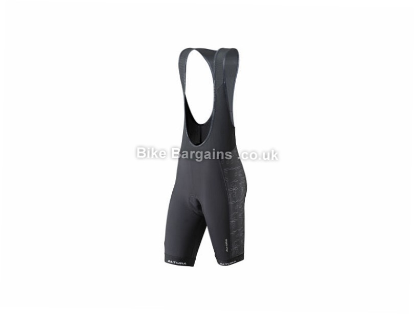 Altura Ladies Peloton ProGel Bib Shorts 8,10,12,14,16,18, Pink,Black