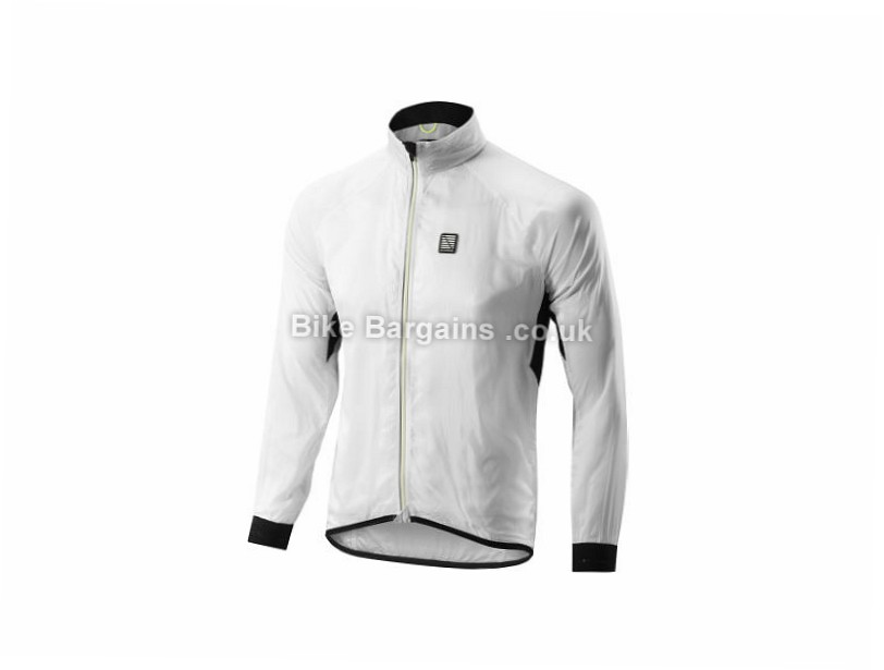 Altura Podium Shell Windproof Jacket White, XL - M & L are extra