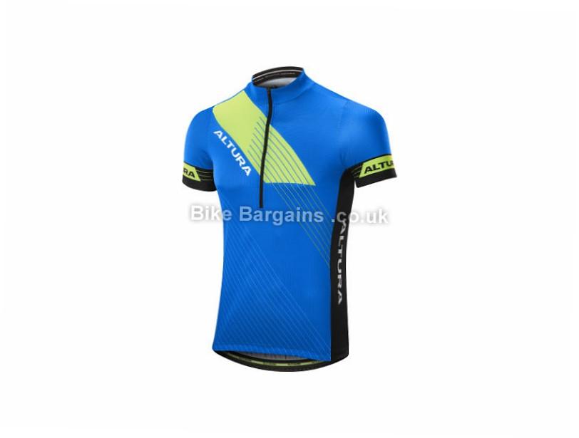 Altura Sportive Short Sleeve Jersey XL,XXL, Red, Black