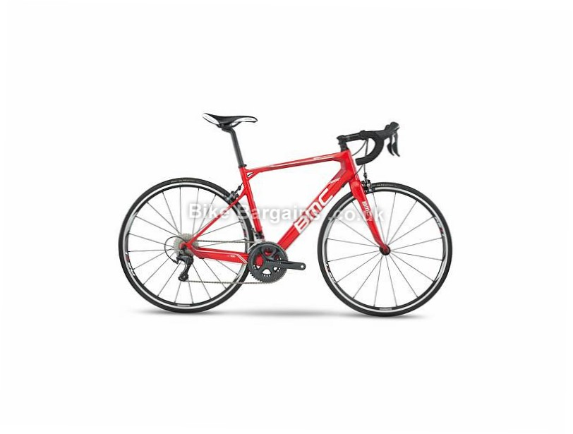 BMC Granfondo GF02 Ultegra Carbon Road Bike 2017 54cm, Red, Carbon, Calipers, 11 speed, 700c, 8.3kg
