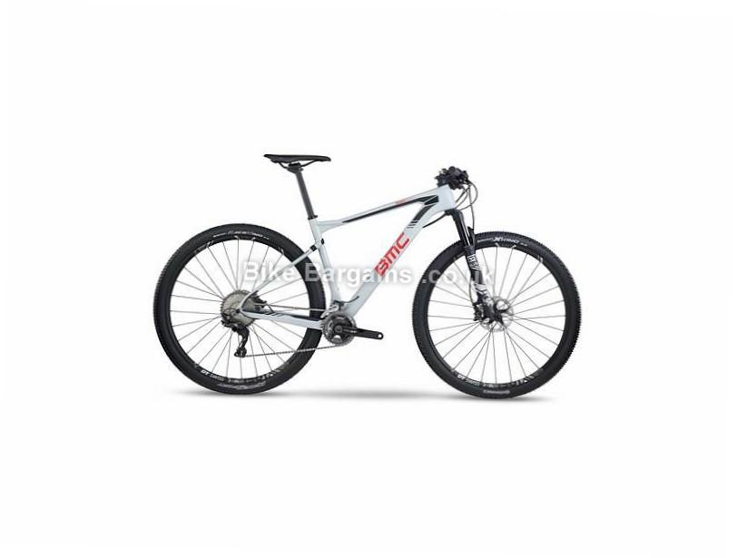 "BMC Teamelite TE01 XT 29"" Carbon Hardtail Mountain Bike 2017 L, White, 29"""