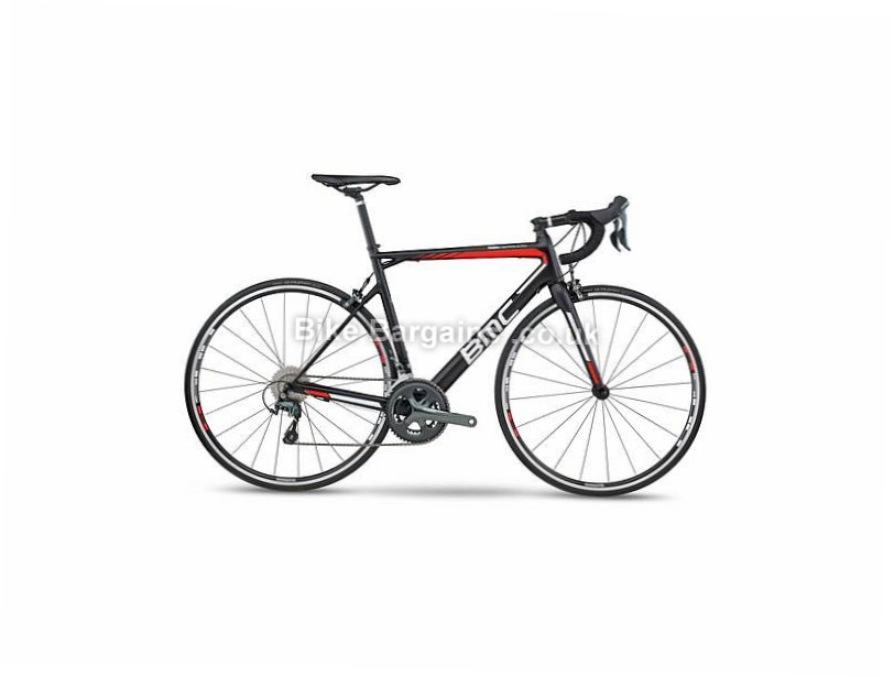 BMC Teammachine SLR03 Tiagra Carbon Road Bike 2017 47cm, Black, Carbon, Calipers, 10 speed, 700c