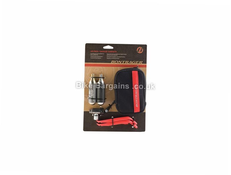 Bontrager Co2 Inflator Air Pack Black, Red, 2 cartridges