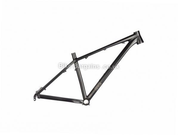 "Brand-X HT-01 27.5 Alloy Hardtail MTB Frame 15"",17"",19"", Black, 27.5"", 2.04kg, Alloy, Hardtail"