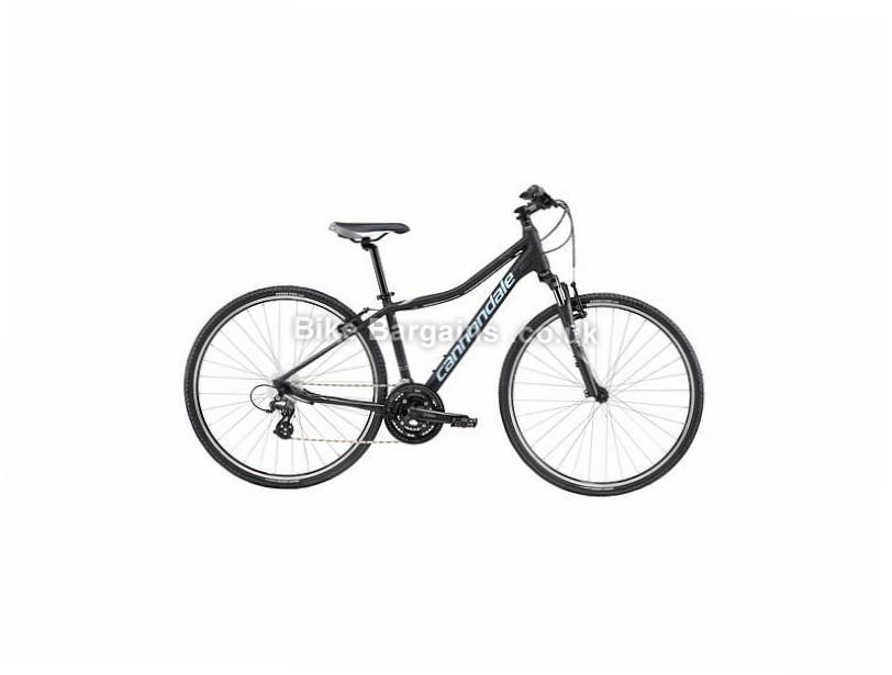Cannondale Althea 2 Ladies Alloy Hybrid City Bike 2017 L, Black