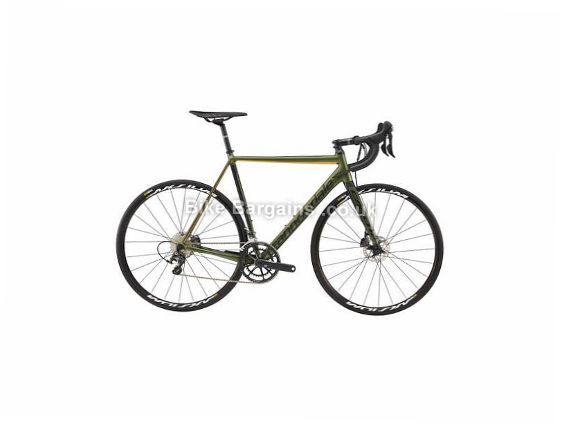 Cannondale CAAD12 Ultegra Disc Alloy Road Bike 2017 54cm,56cm,58cm, Green, Alloy, Disc, 11 speed, 700c, 7.6kg