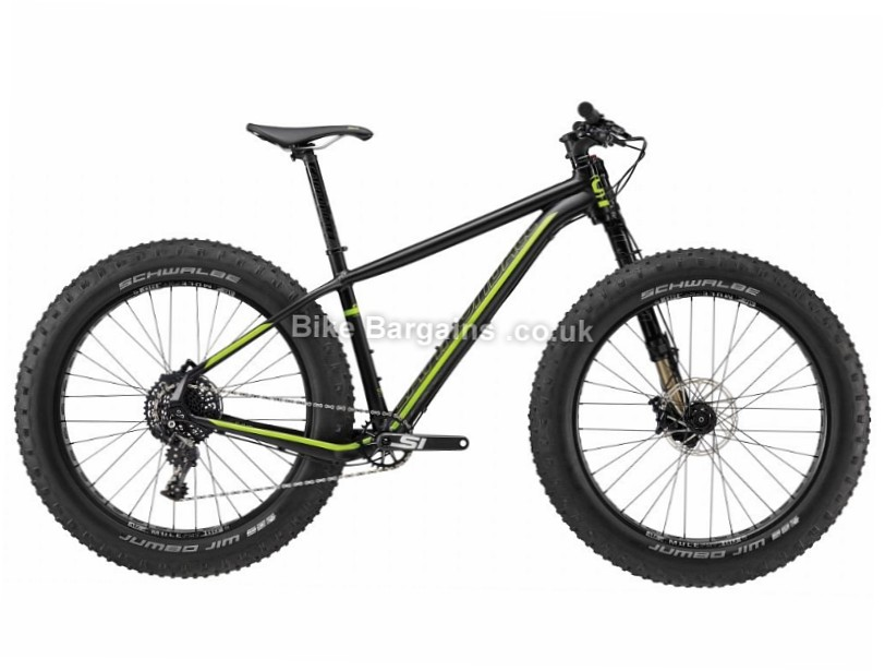 "Cannondale Caad 1 Rigid 26"" Alloy Hardtail Fat Mountain Bike 2017 S, Black"