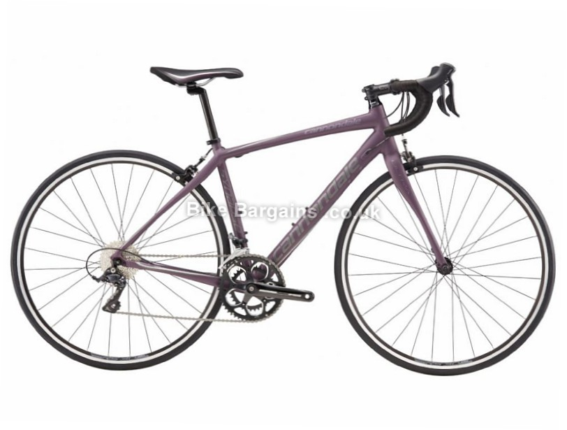 Cannondale Synapse Al Sora Ladies Alloy Road Bike 2017 44cm, Purple