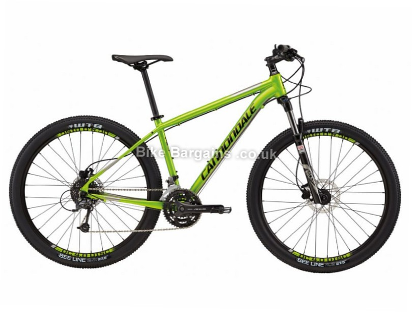 "Cannondale Trail 4 Alloy Hardtail Mountain Bike 2017 27.5"", L, Green"