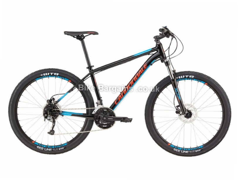 "Cannondale Trail 5 27.5"" Alloy Hardtail Mountain Bike 2017 27.5"", L, Black, Blue"