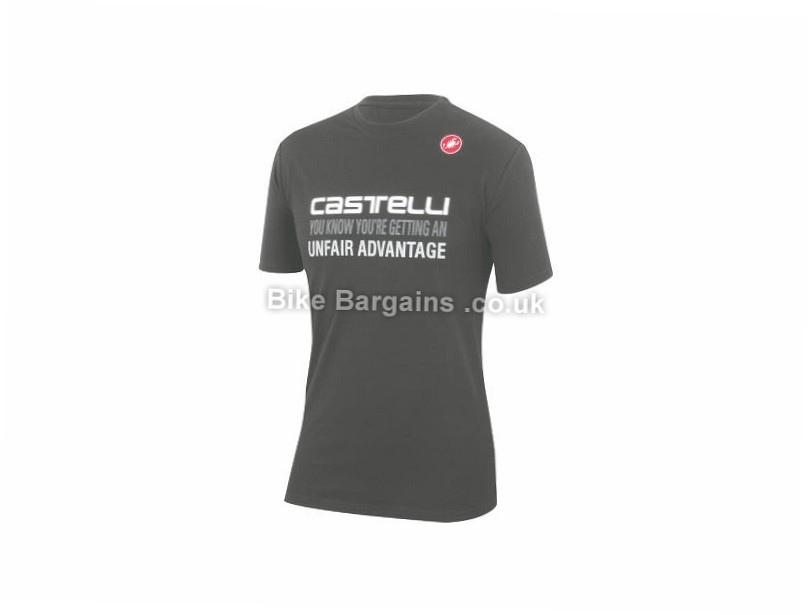 Castelli Advantage Casual T-Shirt S, Black