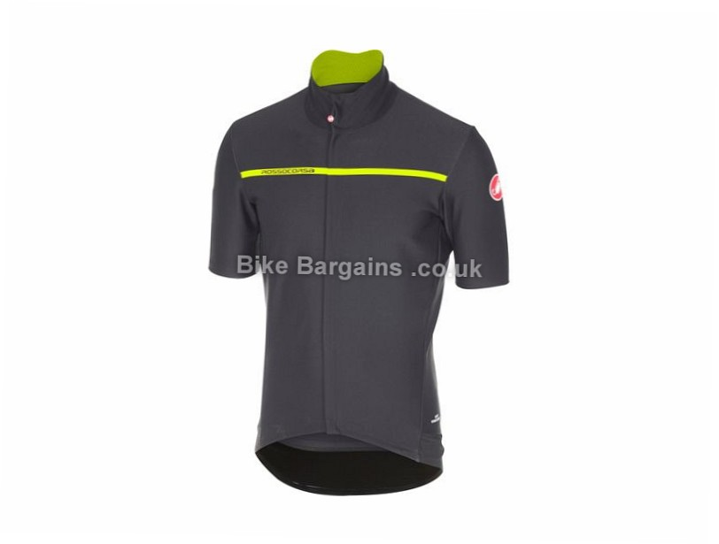 Castelli Gabba 3 Road Short Sleeve Jersey 2017 was sold for £84! (L ... e4bb3d9fe