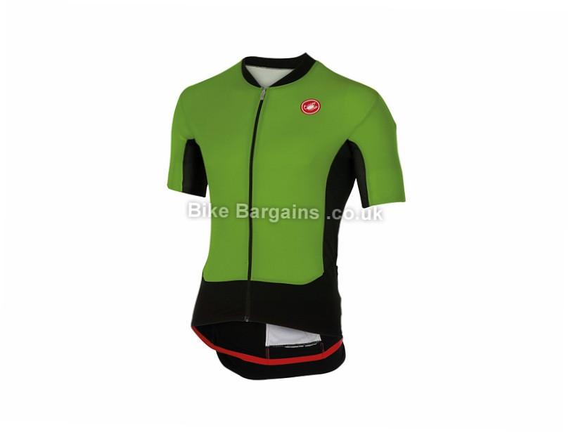 Castelli Superleggera Short Sleeve Jersey S,M,L,XL, Grey, Short Sleeve