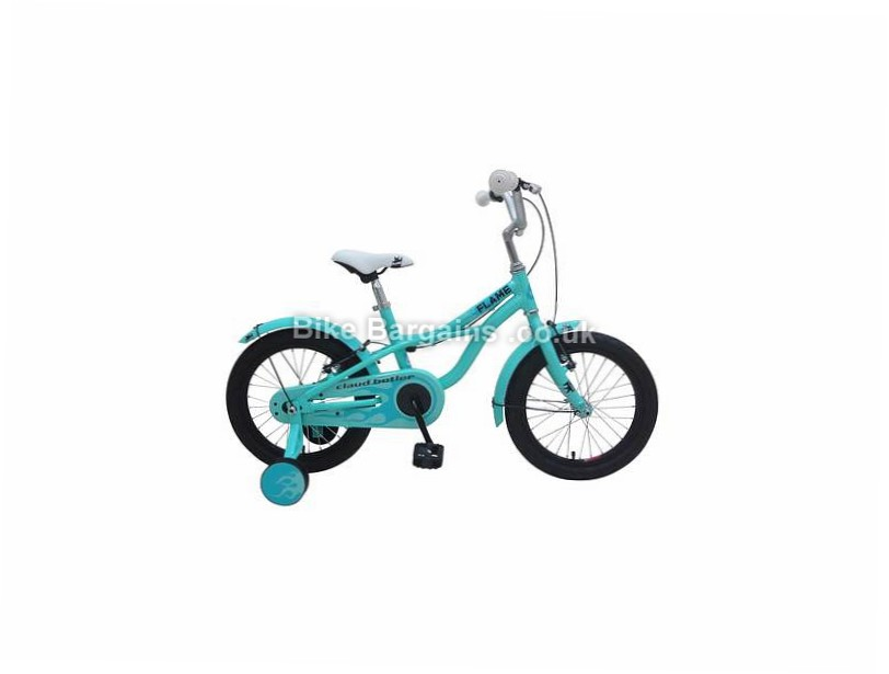 Claud Butler Flame 16 Alloy Kids Bike 2017 Blue, Green, 16""