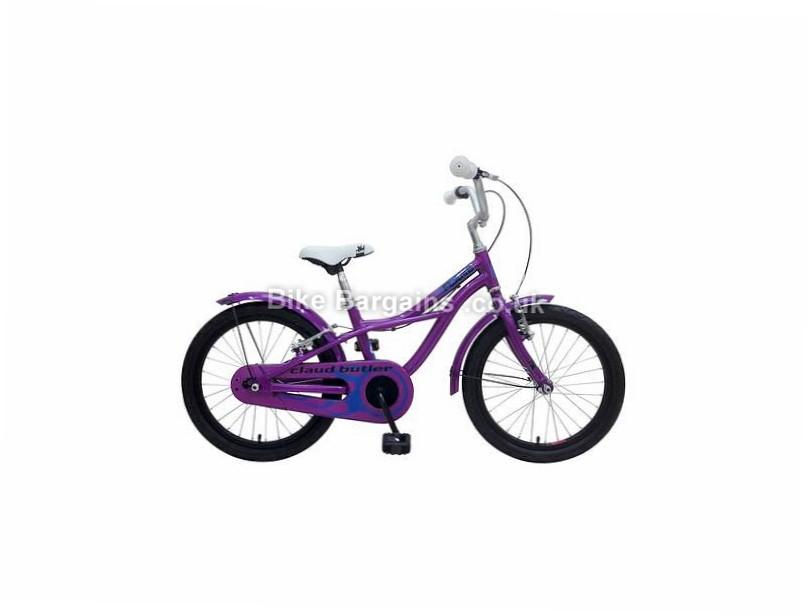 "Claud Butler Flame 18 Alloy Kids Bike 2017 Purple, 18"""