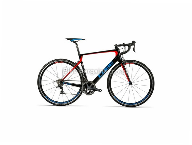 Cube Agree C:62 SL Carbon Dura Ace Road Bike 2016 60cm, Black, Red, Blue