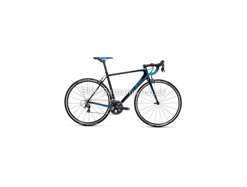 Cube Litening C:62 Carbon Ultegra Road Bike 2017 56cm, 58cm, 60cm, 62cm, Black, Blue