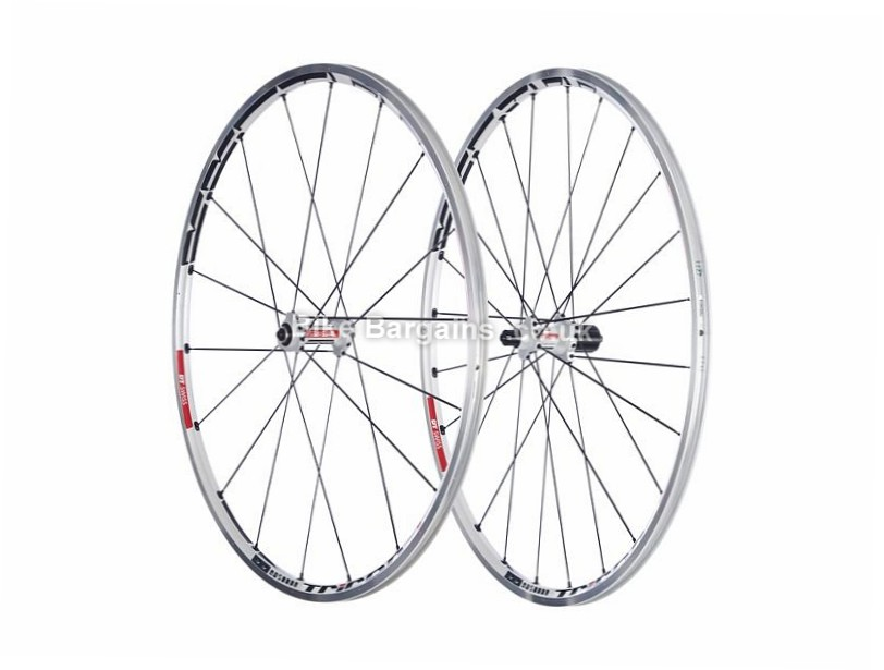 DT Swiss RR 1455 Road Wheelset Shimano, 700c, White, 10 Speed