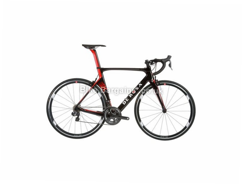 De Rosa SK Ultegra Di2 Carbon Road Bike 2017 58cm, 700c, Black, Red, 11 Speed, Carbon