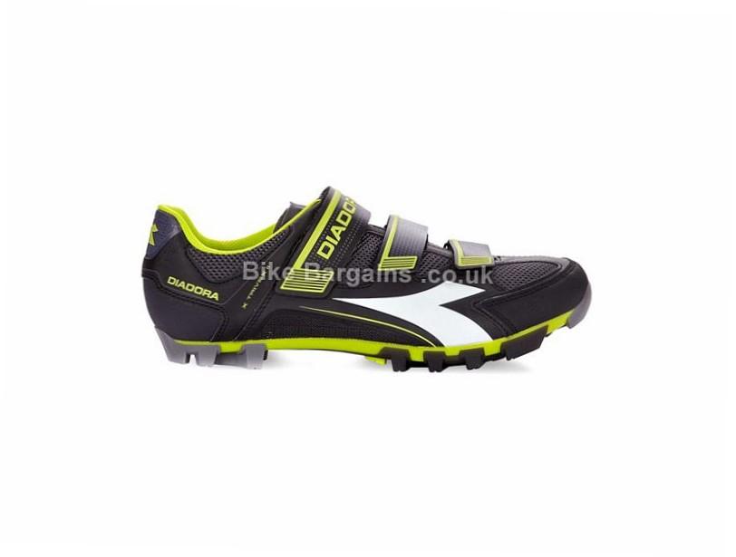 Diadora X Trivex 2 MTB SPD Shoes 37, 38, 39, 40, 41, 42, 43, 44, 45, 46, 47, 48, Grey, Red, Black, Green, White
