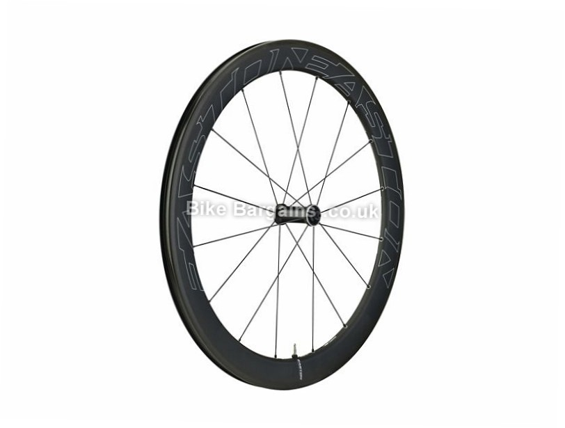 Easton EC90 Aero 55 Carbon Clincher Front Road Wheel 700c, Black